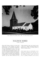 HALDUM KIRKE - Nationalmuseet