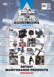 Bega Maintenance Catalogue