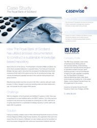 RBS Case Study - Casewise