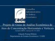 Projeto de Guias de Análise Econômica de Atos de ... - Ibrac