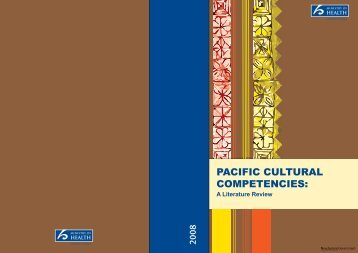 Pacific Cultural Competencies: A Literature Review - Ministry of Health