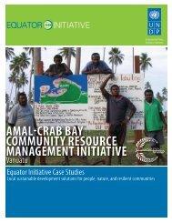 AMAL-CRAB BAY Community Resource Management Initiative