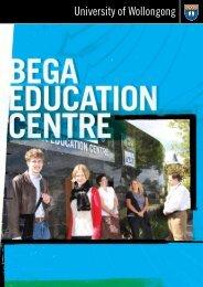 infor mation - Bega @ UOW - University of Wollongong