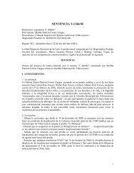 Sentencia T - 1346/01 del 12 de diciembre del 2001. Martha ... - Acnur