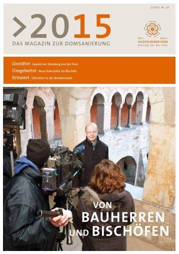 Bauherren und Bischöfen - Fundraisingbüro Bistum Hildesheim