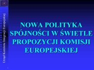 Reforma polityki spójności