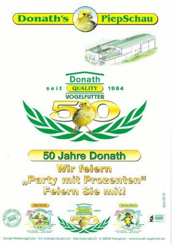 Donath Quality Vogelfutter Kurzpräsentation