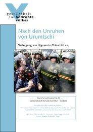 Menschenrechtsreport - Gesellschaft für bedrohte Völker