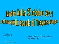 Medie Aulla 25 ottobre 2011: prima-a scuola a Tresana-dopo