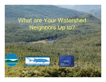 What are Your Watershed N i hb U t - New York State Water ...