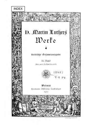 Lieder - Maarten Luther
