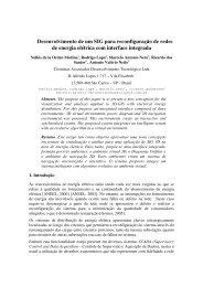 Desenvolvimento de um SIG para reconfiguração de redes de ...