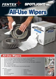 All-Use Wipers - Spill kits - Absorbents