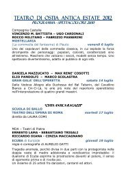 Scarica il Programma (PDF) - Art a part of cult(ure)