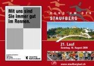 21. Lauf - Staufberglauf
