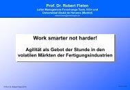 Work smarter not harder Agilität als Gebot der Stunde in ... - SupplyOn
