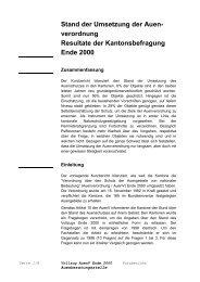 Resultate der Kantonsbefragung - KBNL