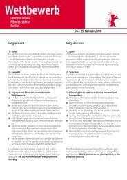 Reglement Regulations - HAVC