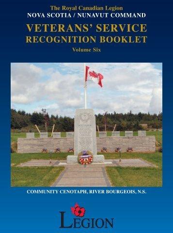 VSRB Vol 6 - Royal Canadian Legion