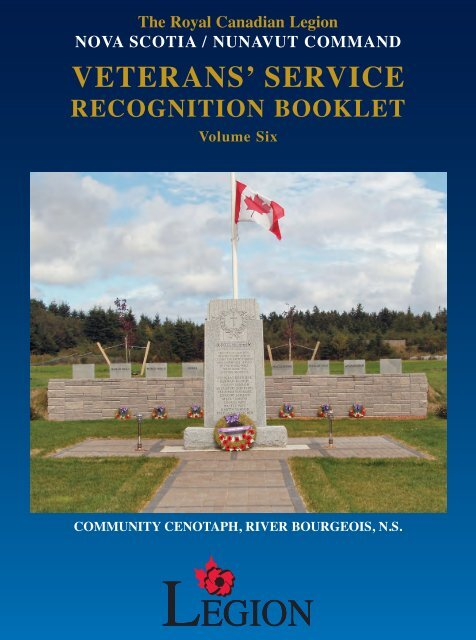 Vsrb Vol 6 Royal Canadian Legion