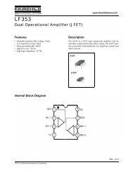 Lf353 Bi-FET Wide Band Amplificador Operacional entradas 2pk