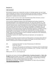 Newsletter 04 Liebe FreundInnen Liebe Interessierte Das ...