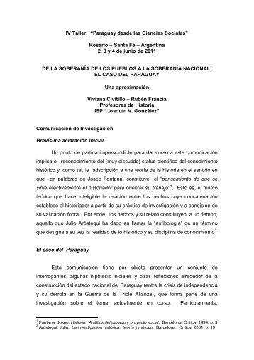 de la soberanía de los pueblos - Grupo de Estudios Sociales sobre ...