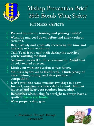 fitness safety