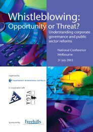 Conference brochure and programme - Transparency International ...