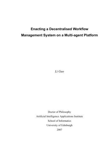 Artificial intelligence phd thesis