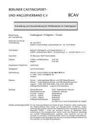 Frühjahrsturnier - VDSF LV Berlin-Brandenburg e.V.