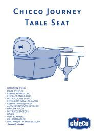 Chicco Journey Table Seat