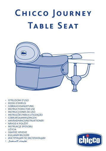 chicco hook on chair instructions
