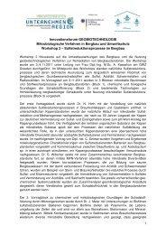 Bericht - GWZ Dresden