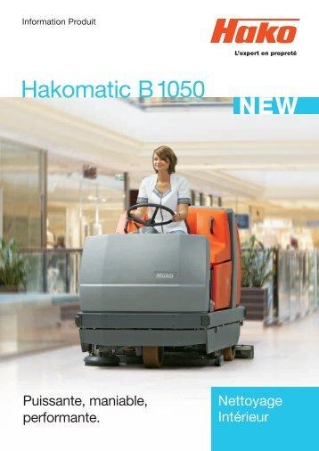 Brochure B 1050 - Hako