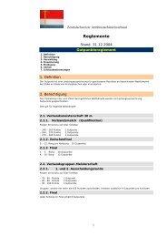 Reglemente - Zentralschweizer Armbrustschützen Verband