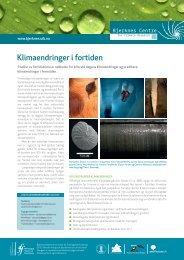 Klimaendringer i fortiden (pdf) - Bjerknessenteret for klimaforskning ...
