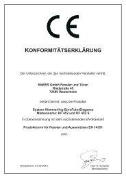 KF 452 S - Kneer GmbH