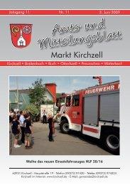 Amts- und Mitteilungsblatt - Kirchzell