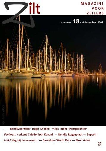 Zilt Magazine nummer 18 - 2007