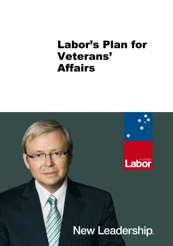 Labor's Plan for Veterans' Affairs - Naval Association of Australia