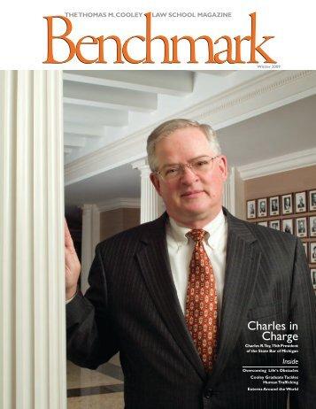 Benchmark Magazine - Winter 2009 - Thomas M. Cooley Law School