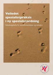Veiledningshefte aug 11.pdf - Norsk Fysioterapeutforbund