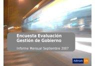 Evaluaciongob- Septiembre 07