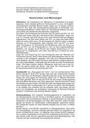 Nachrichten und Meinungen 83 - Welt der Arbeit