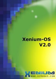 Xenium-OS V2.0 User Manual