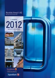 Rapport pr. 30. juni 2012 - Swedbank