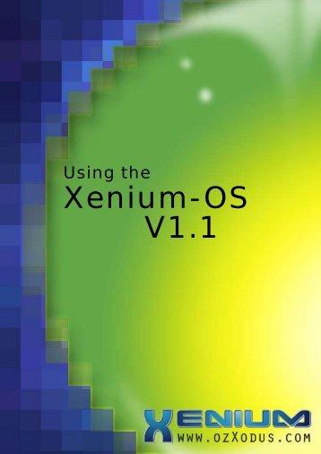 Using the Xenium-OS V1.1 - Xbox-Scene.com