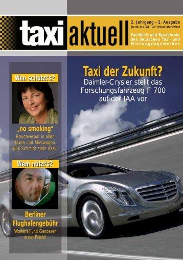 Taxi der Zukunft? - Taxi Aktuell