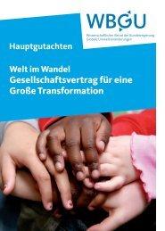 Gesellschaftsvertrag für eine Große Transformation - Erfolgsfaktoren ...